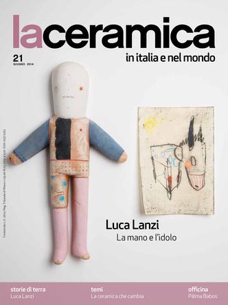 Portada de la revista -La ceramica en Italia e nel Mondo