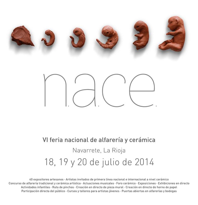 Cartel de la feria NACE Navarrete 2014