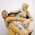 Pieza de cerámica de Akio Takamori