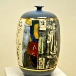 Pieza de cerámica de Bor-Jou Kuo