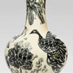 Pieza de cerámica de Shan-Hsu Cheng
