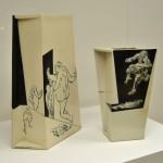 Pieza de cerámica de Wei-Cheng Huang, 2005