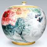 Pieza de cerámica de Wei-I Chi