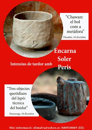 Cartel informativo del curso de Encarna Soler
