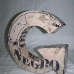 Pieza de cerámica de Soledad Berrocoso