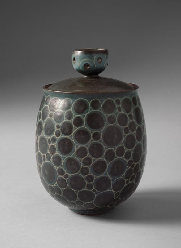 Pieza de cerámica de Harrison McIntosh