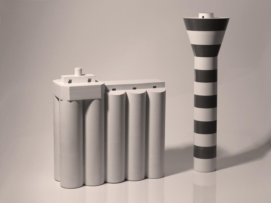 Piezas de cerámica de Juan Ortí