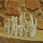 Pieza de cerámica de Mia Llauder
