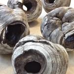 Pieza de cerámica de Yoshimi Futamura