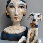 Pieza de cerámica de Teresa Gironès