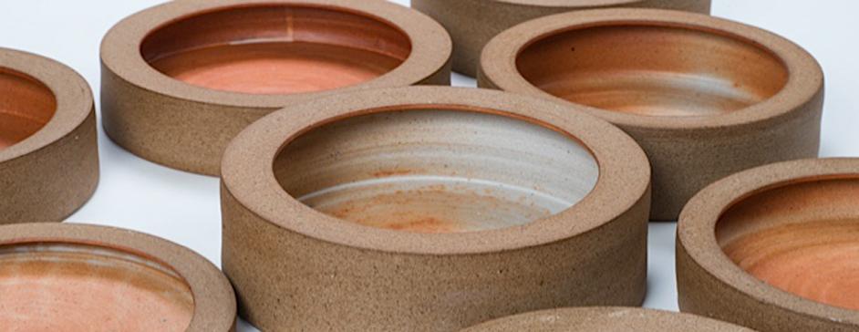 Piezas de cerámica de Fernando Garcés