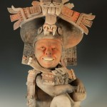 Escultura cerámica de Kukuli Velarde