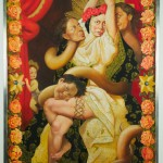 Pintura de Kukuli Velarde