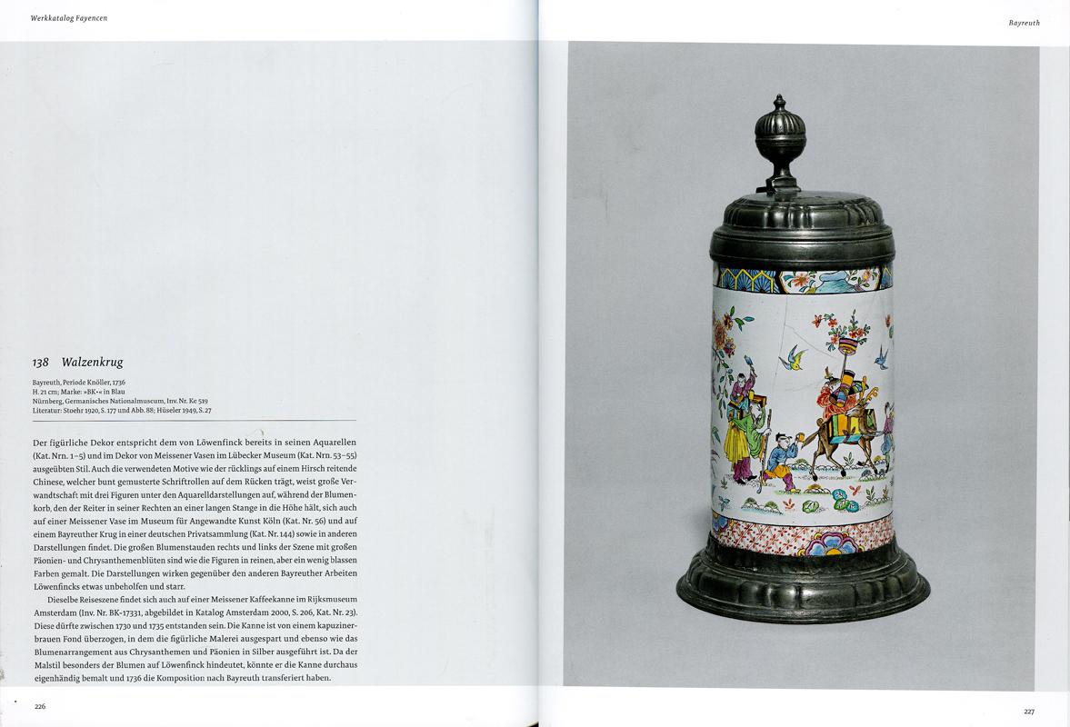 Páginas interiores del libro Phantastische Welten, de la editorial alemana Arnoldsche Publishers