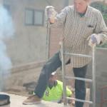 Cocción de horno de reflejos metálicos