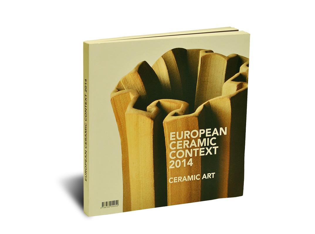 Portada del catálogo del European Ceramic Context 2015