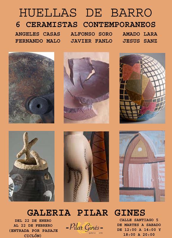 Cartel de la exposición Huellas en el barro