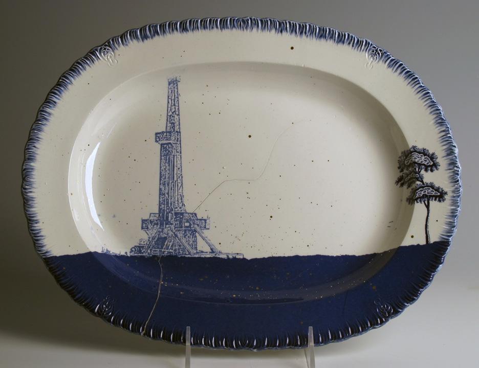 Pieza de cerámica de Paul Scott