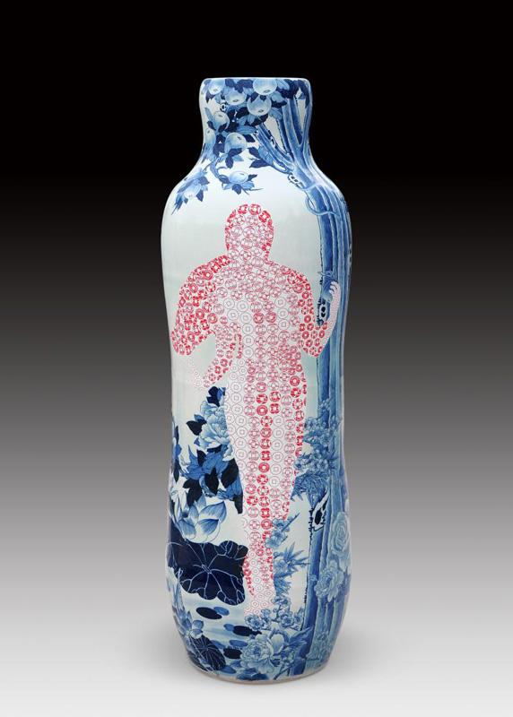 Pieza de cerámica de Sin-ying Ho