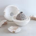 Escultura cerámica de Benjamín Menéndez