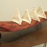 Escultura cerámica de Montserrat Riu