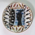 Pieza de cerámica de Alfredo Aguilera