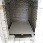 Interior del horno