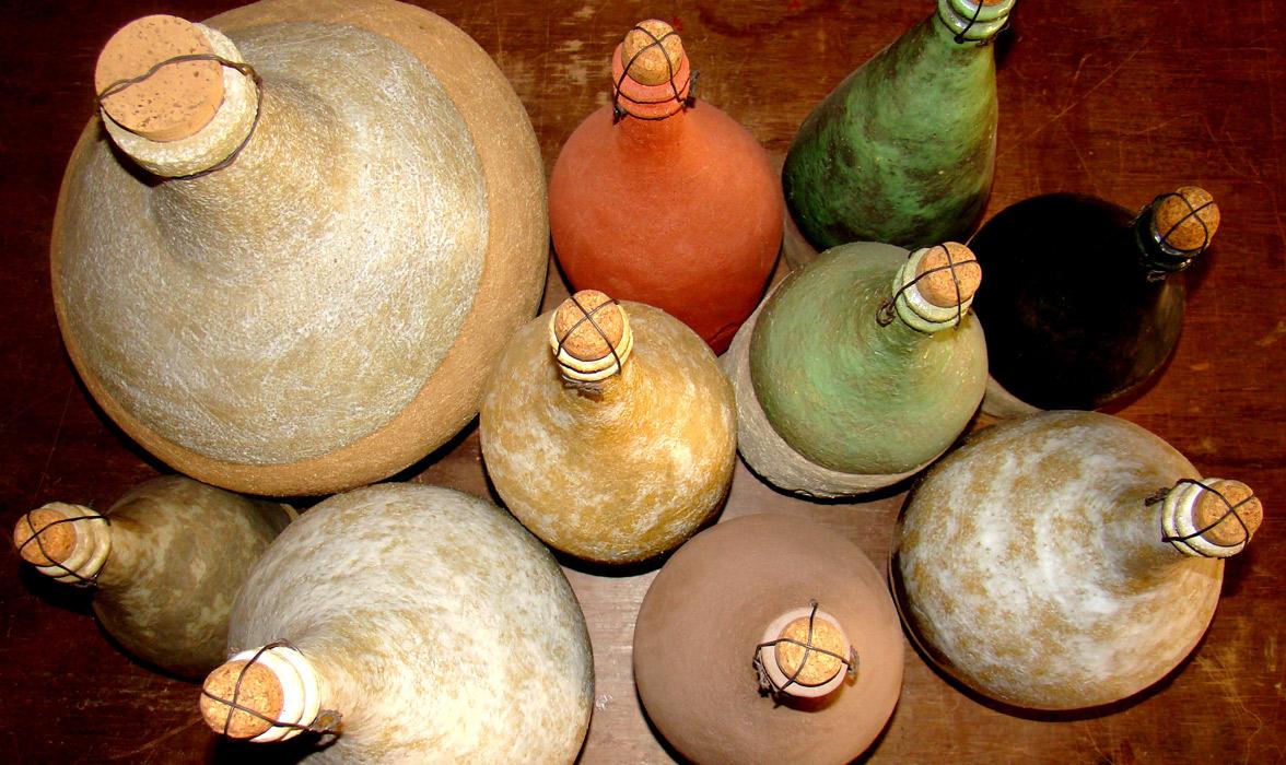 Piezas de cerámica de Mercè Beneit