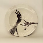 Pieza de cerámica de Irina Larios