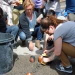Ambiente de las jornadas de cerámica en Manises