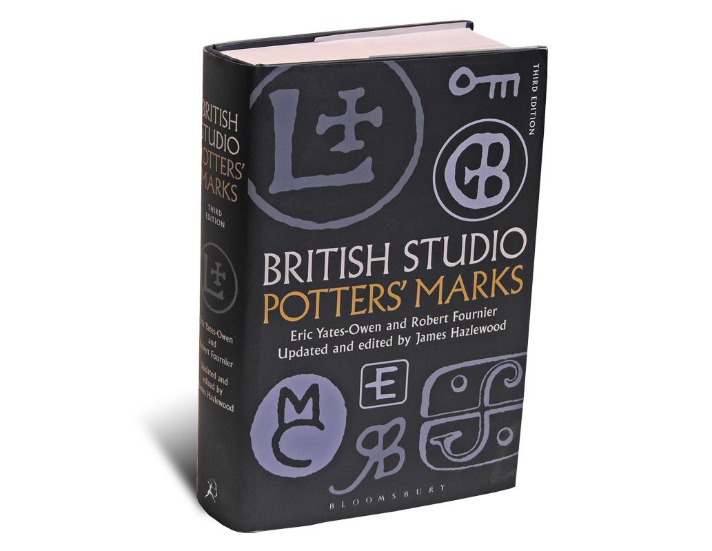 Portada del libro British Studio Potters Marks