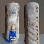 Escultura cerámica de Dolors Bosch