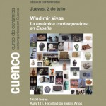 Cartel de la conferencia de Wladimir Vivas en Cuenca