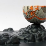 Escultura cerámica de Chloe Peytermann
