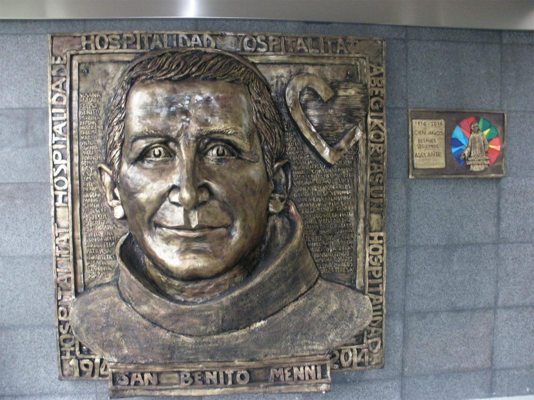 Placa conmemorativa a la memoria de San Benito Menni