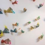Instalación cerámica de Pilar Bandrés