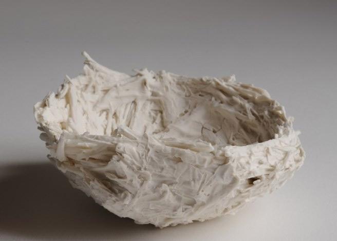 Foto de pieza de cerámica de Rafaela Pareja