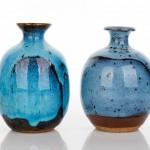 Piezas de cerámica de Peter Rushforth