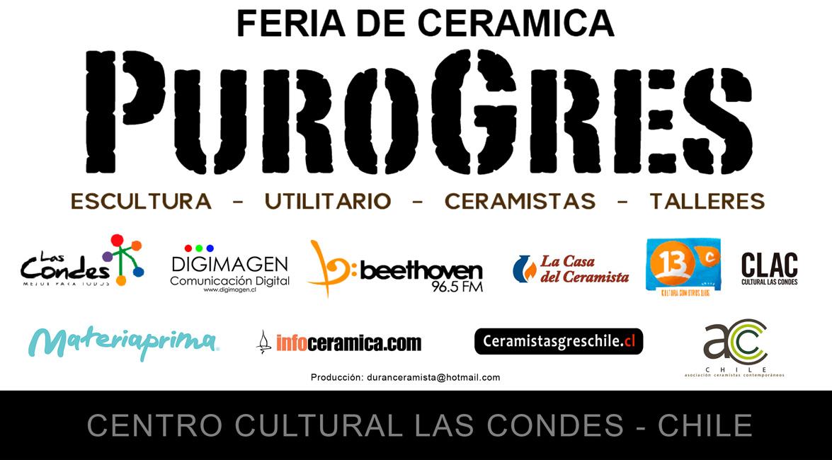 Cartel de la feria de cerámica Purogres 2015