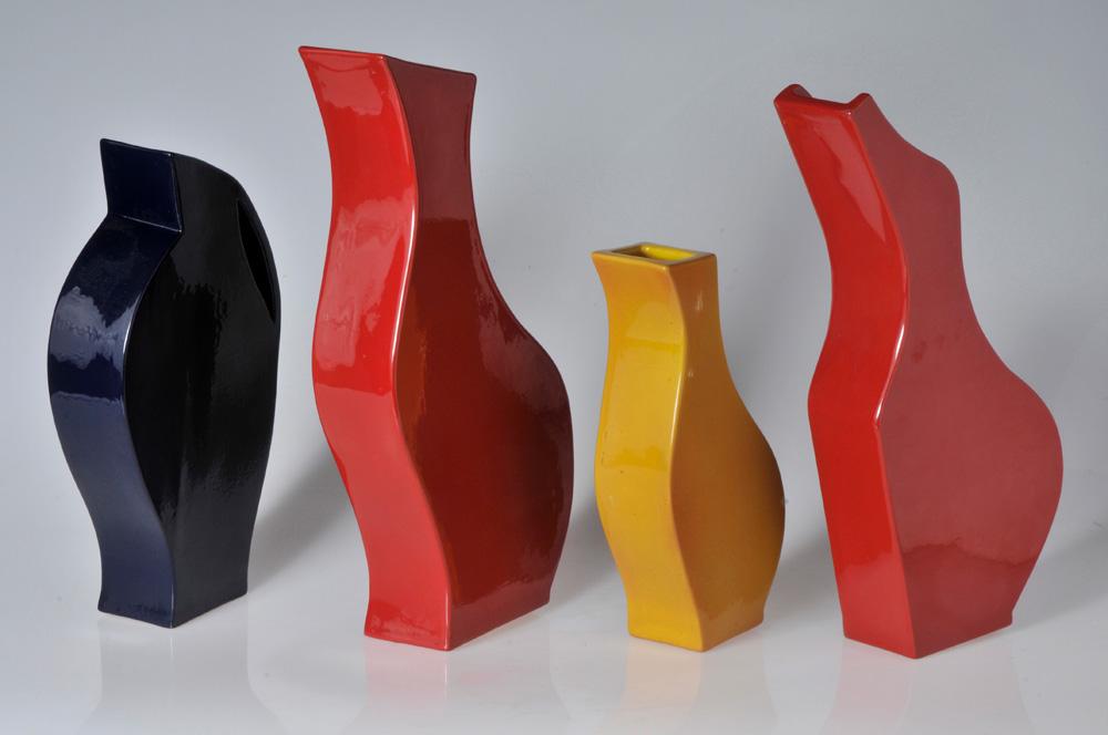 Piezas de cerámica de Andres Sütevaka