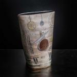 Pieza de cerámica de Dolors-Escoté y Camil.la Pérez Salvà