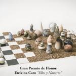 Pieza de cerámica de Etelvina Caro
