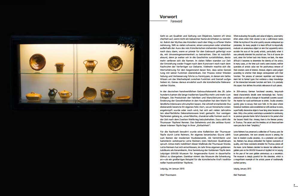 Páginas interiores del libro Goldene Topfe