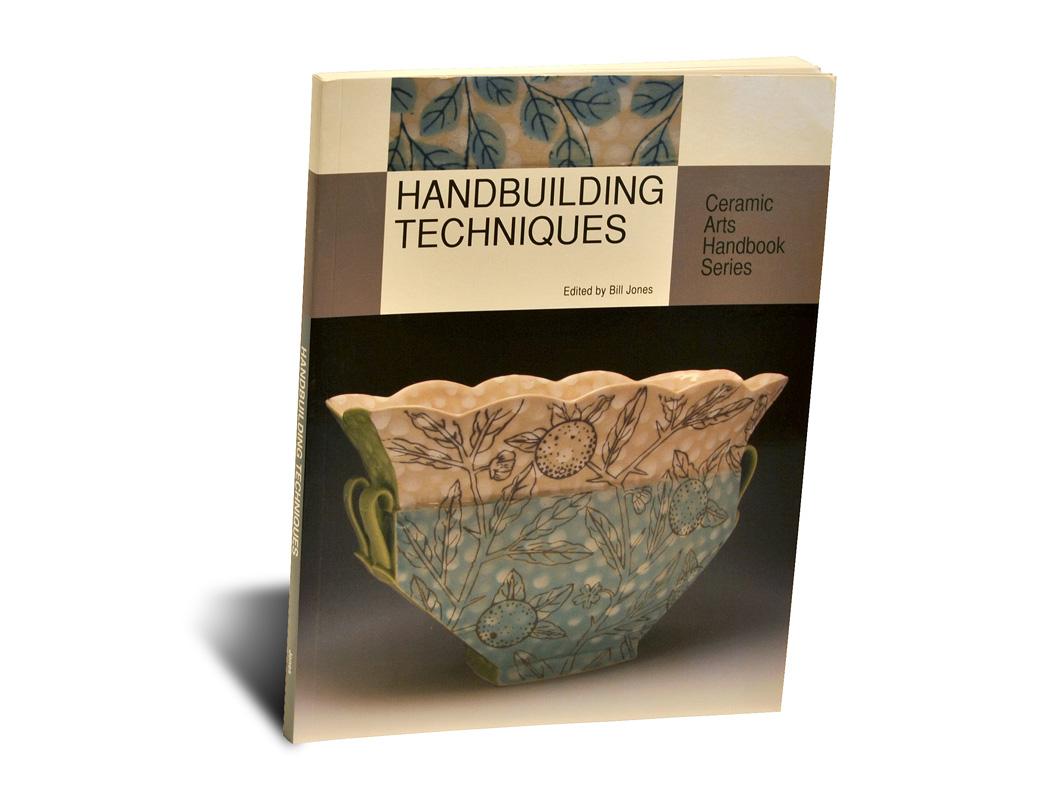 Portada del libro Handbuilding and Techniques, de la editorial americana American Ceramic Society