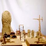 Instalación cerámica de Pablo Ponce