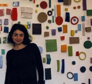 Foto personal de la ceramista Silvia Zotta