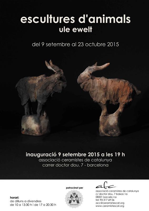 Cartel de la exposición de Ule Ewelt