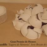 Pieza de cerámica de Valeria Baudille