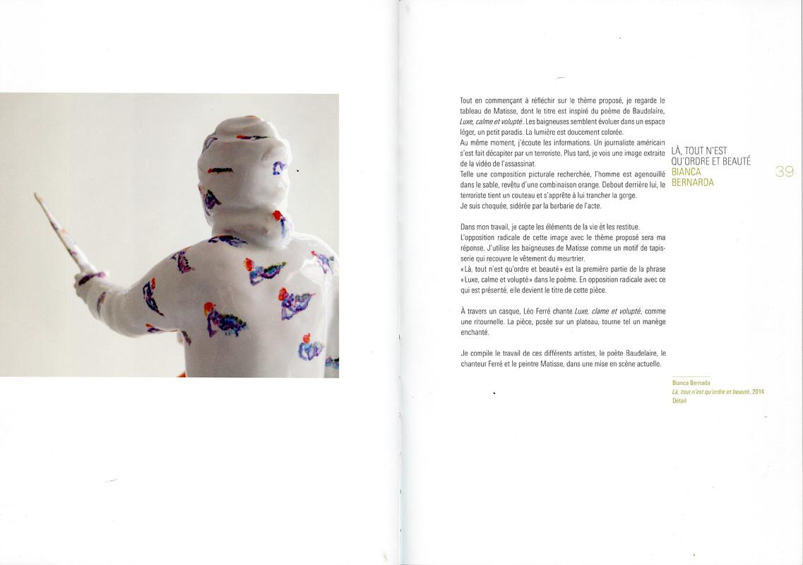 Páginas interiores del libro Luxe, Calme et Volupe. Swissceramics