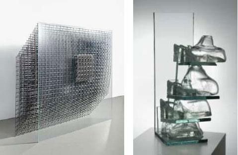Obras en vidrio